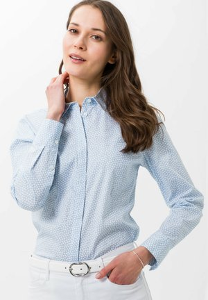 STYLE VICTORIA - Button-down blouse - cool blue