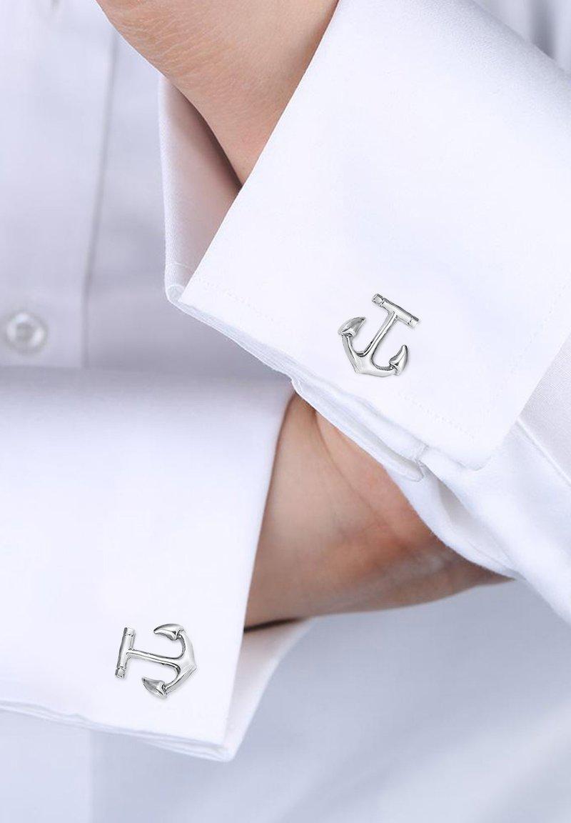 KUZZOI - ANCHOR MARITIM - Cufflinks - silber