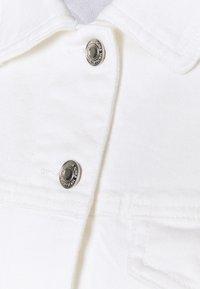 MICHAEL Michael Kors - FITTED JACKET - Denim jacket - white - 7