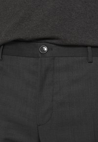 Calvin Klein Tailored - TWILL STRUCTURE PANT - Trousers - dark grey heather - 4