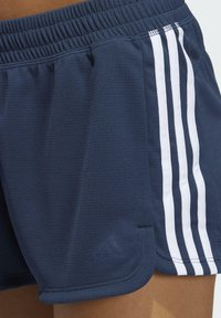 adidas Performance - PACER 3 STRIPES KNIT CLIMALITE SHORTS - Sports shorts - blue - 3
