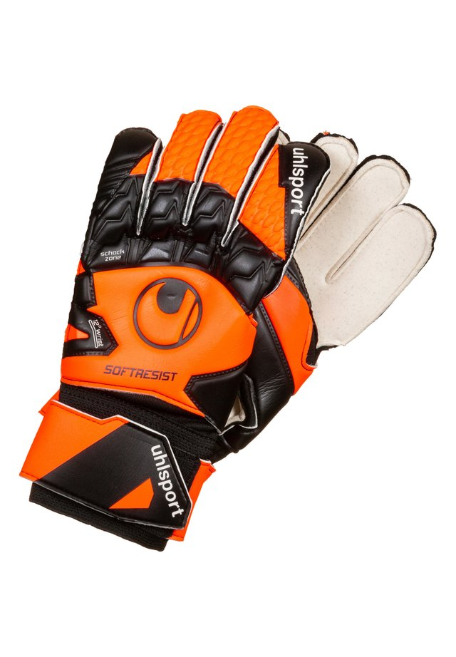 SOFT RESIST  - Handsker - fluo orange / white / black