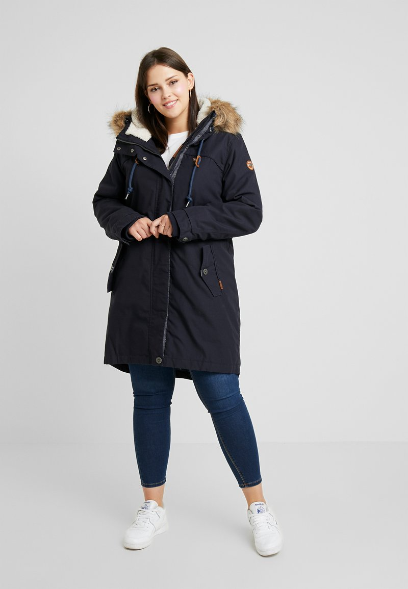 Ragwear Plus - COAT - Parkatakki - navy