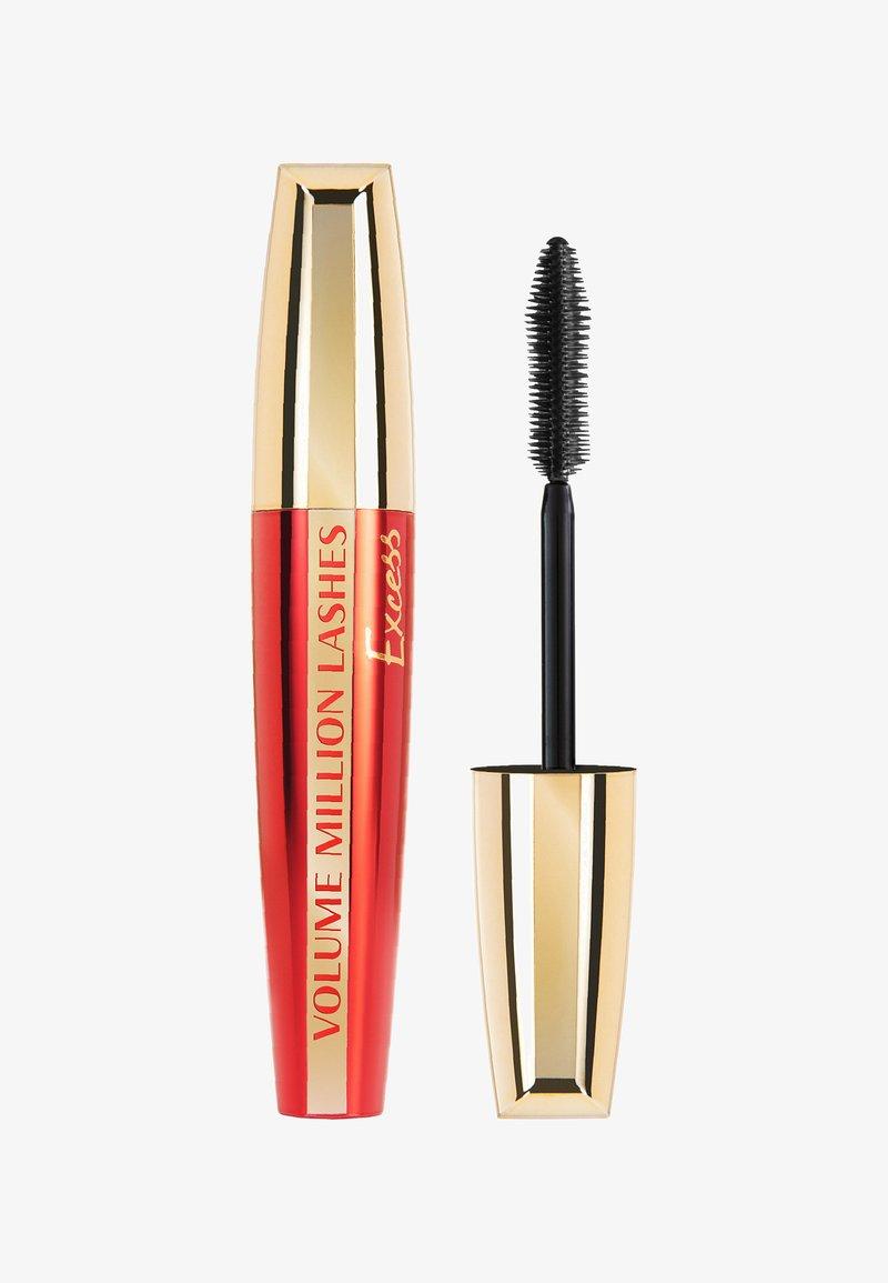L'Oréal Paris - VOLUME MILLION LASHES - Mascara - excess schwarz