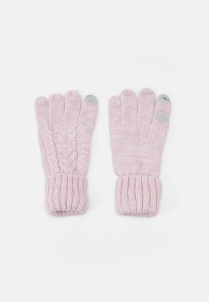 CABLE UNISEX - Gloves - pink standard