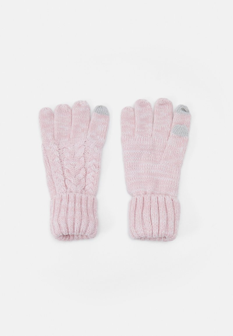 GAP - CABLE UNISEX - Gloves - pink standard