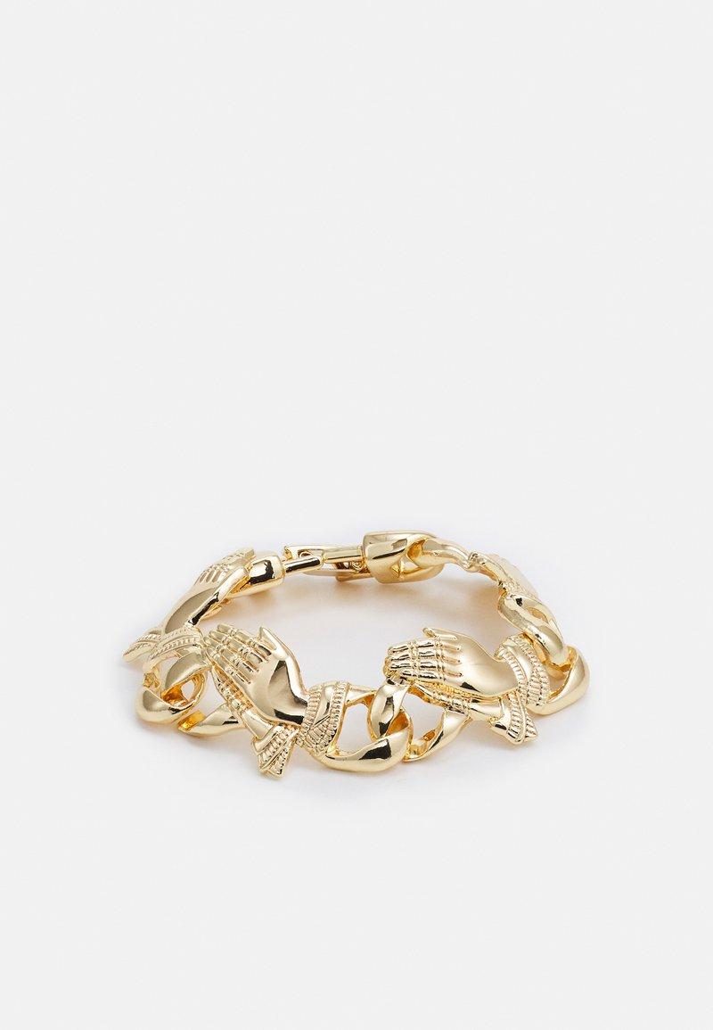 Urban Classics - PRAY HANDS BRACELET UNISEX - Bracelet - gold-coloured