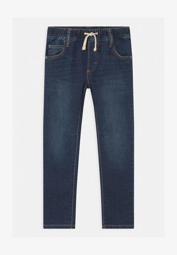 BOYS - Slim fit jeans - dark-blue denim