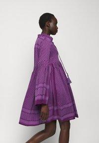 CECILIE copenhagen - SOUZARICA - Day dress - plum - 3