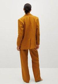 Mango - PERTH-I - Blazer - rouge-orangé - 2