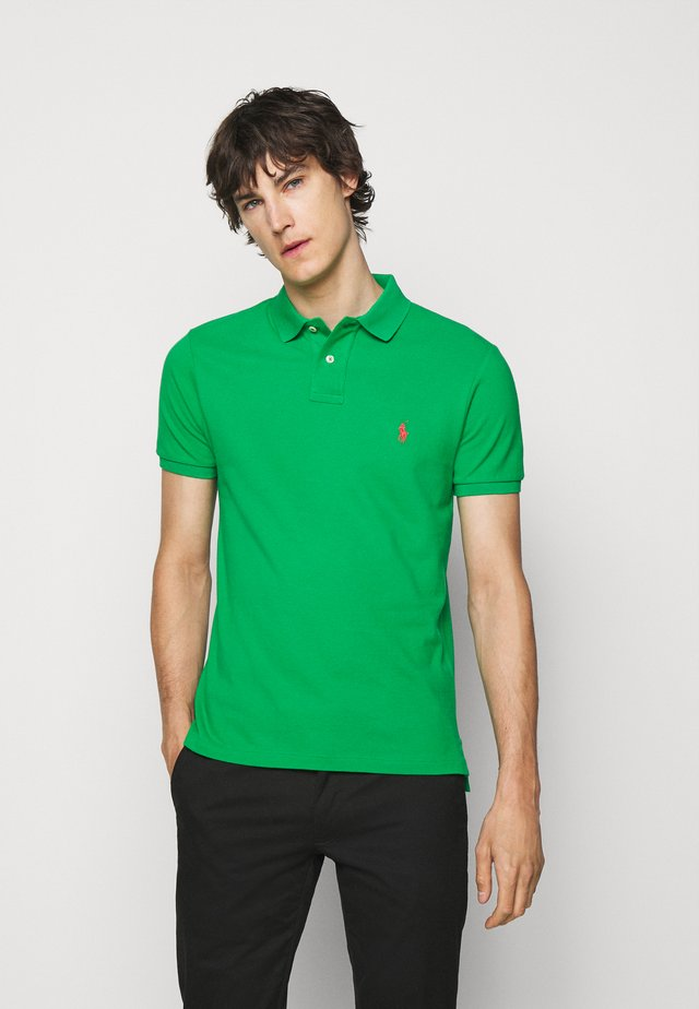 SLIM FIT - Poloshirt - golf green