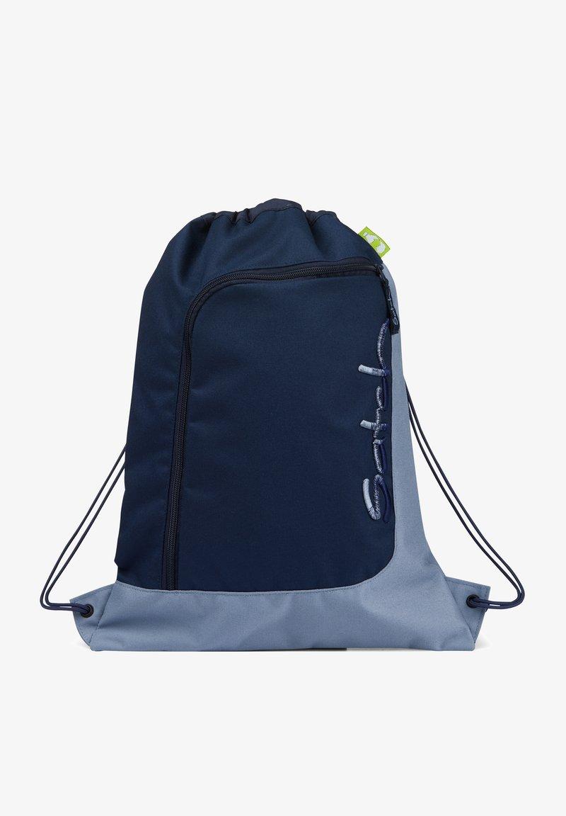 Satch - Drawstring sports bag - blue light blue