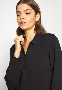JDY - Button-down blouse - black - 5