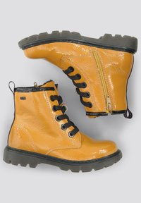TOM TAILOR - Lace-up ankle boots - yellow - 1
