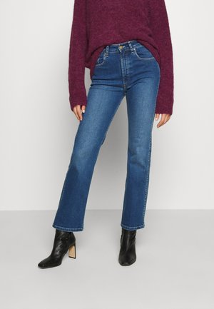 RIVER - Bootcut jeans - stone