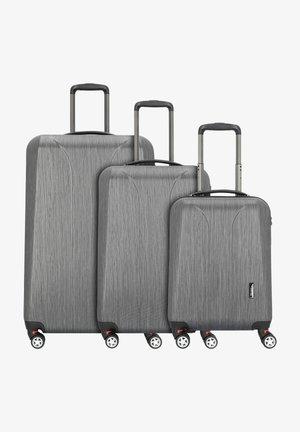 NEW CARAT  - Luggage set - black brushed