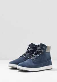 Timberland - DAVIS SQUARE 6 INCH - High-top trainers - navy - 3