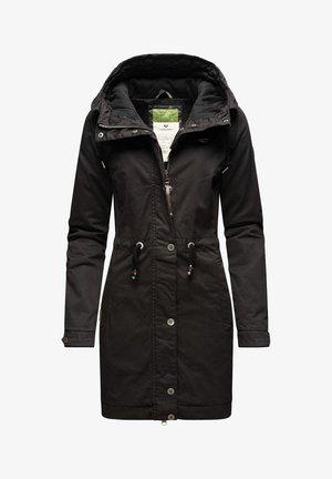 AURORIE - Winter coat - schwarz