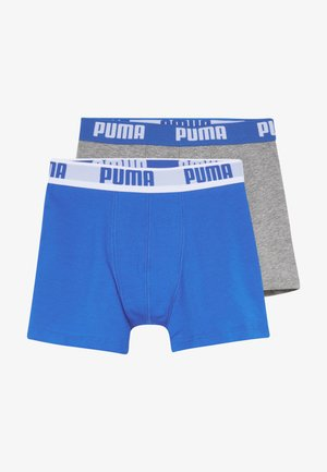 BOYS BASIC 2 PACK - Boxerky - blue/grey