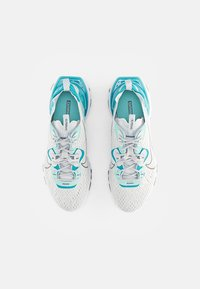 Nike Sportswear - NIKE REACT VISION - Trainers - pure platinum/smoke grey-aquamarine-tropical twist-white - 3