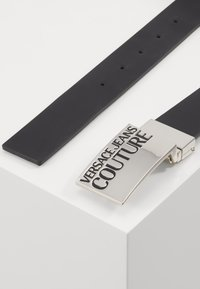 Versace Jeans Couture - Belt - black/silver/dark blue - 2