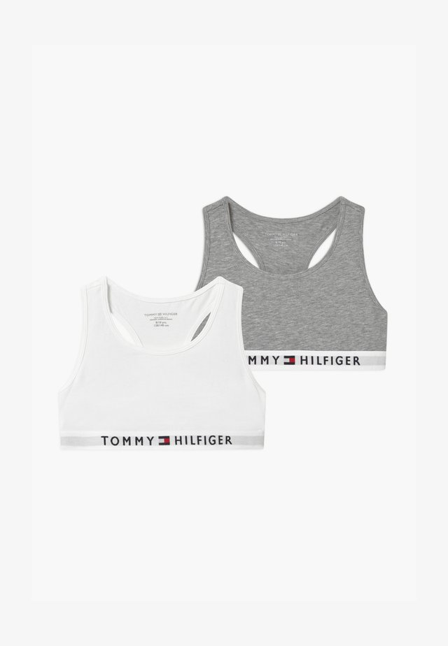2 PACK - Bustier - grey