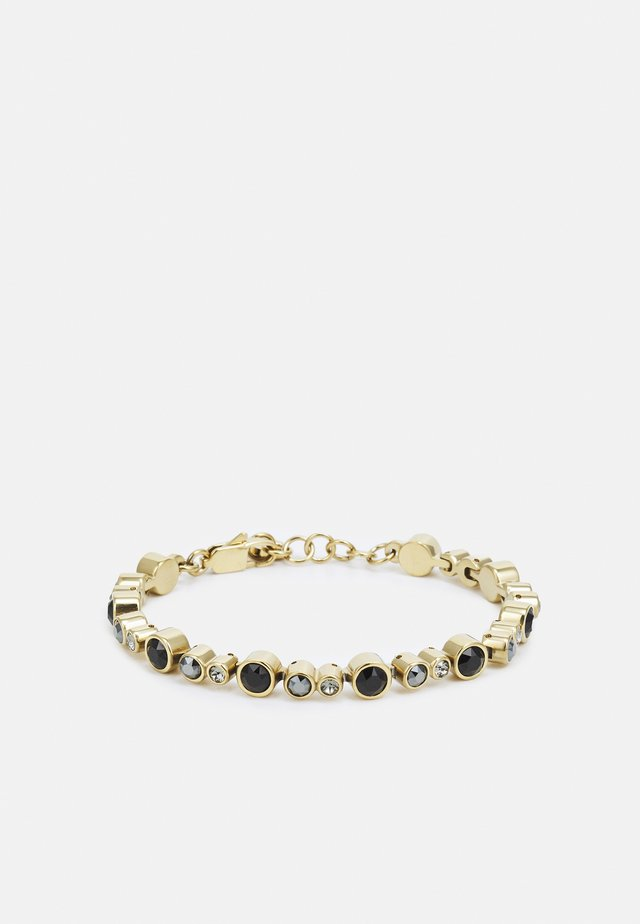 TERESIA BRACELET - Bracciale - black/gold-coloured