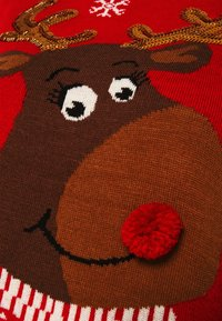 ONLY - ONLXMAS RUDOLF - Jumper - racing red - 4