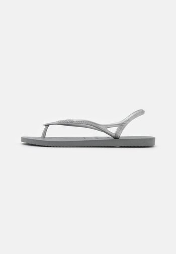 SUNNY - Pool shoes - steel grey