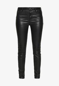 KARL LAGERFELD - COATED - Jeans Skinny Fit - black - 4