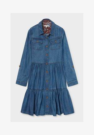 Denim dress - denim-blue