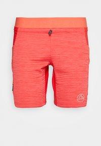 La Sportiva - CIRCUIT - Korte sportsbukser - hibiscus/flamingo - 0