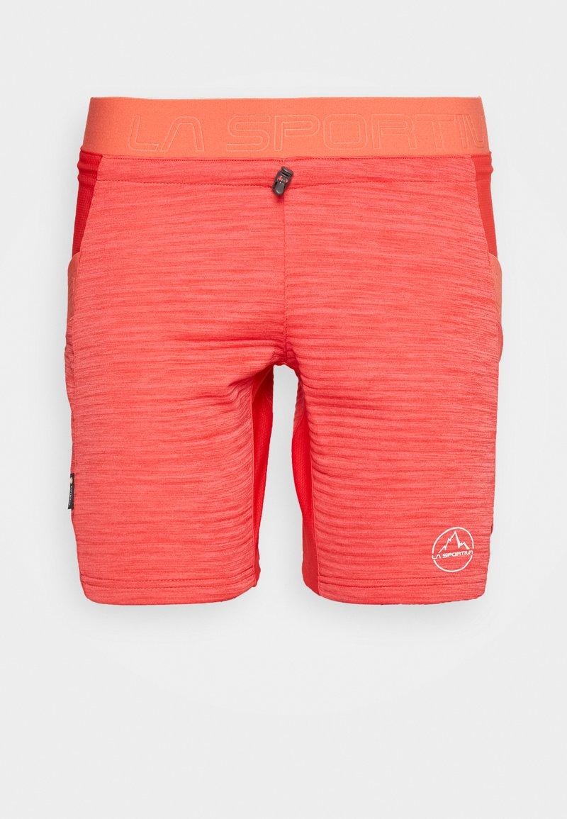 La Sportiva - CIRCUIT - Korte sportsbukser - hibiscus/flamingo