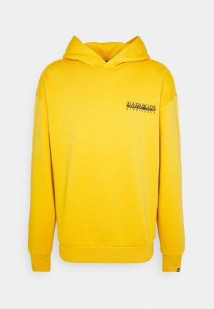 YOIK UNISEX - Sweat à capuche - yellow solar