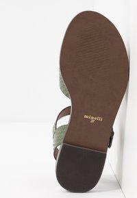Minelli - Sandály - kaki - 6