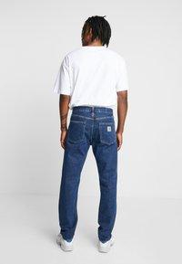 Carhartt WIP - PONTIAC PANT MAITLAND - Straight leg jeans - blue stone washed - 2