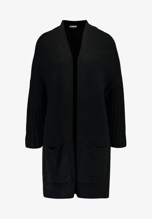 OVERSIZED  - Cardigan - black/black