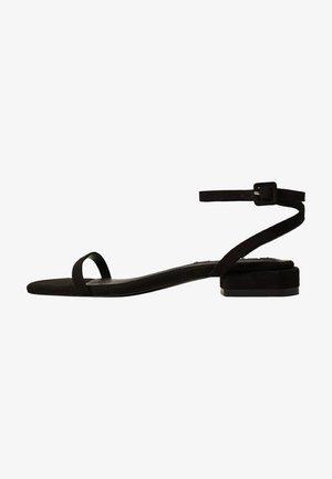 AFRICA - Sandales - zwart
