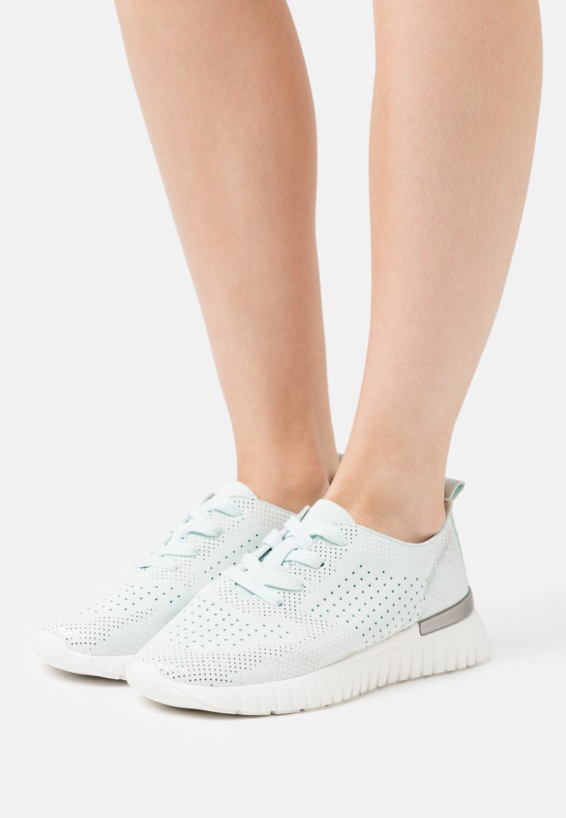 Ilse Jacobsen - TULIP - Sneakers laag - white/blue