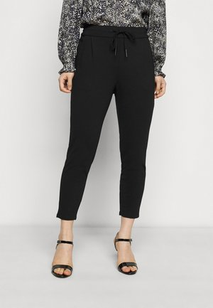 VMEVA LOOSE STRING PANTS - Pantaloni - black