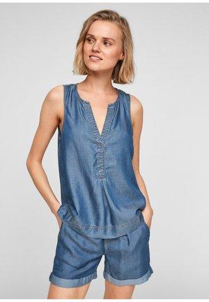 Blouse - medium blue