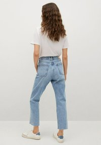 Mango - Straight leg jeans - medium blue - 2