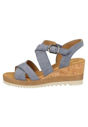 SANDALEN - Walking sandals - nautic (kork/fr) 26