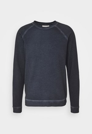 COLD DYE RIVET SWEAT - Sweatshirt - navy