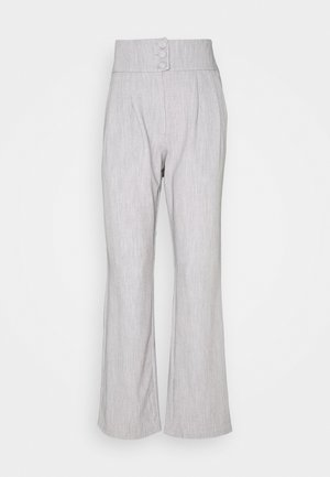 RAFFI TROUSER - Trousers - grey