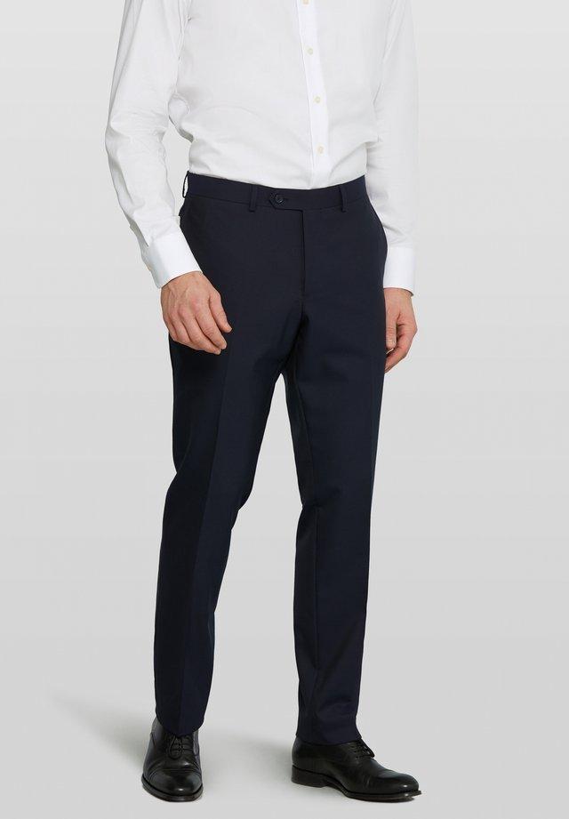 Bull w/o Split - Suit trousers - navy