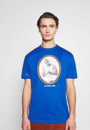 PAC LA - T-shirts print - blue/orange