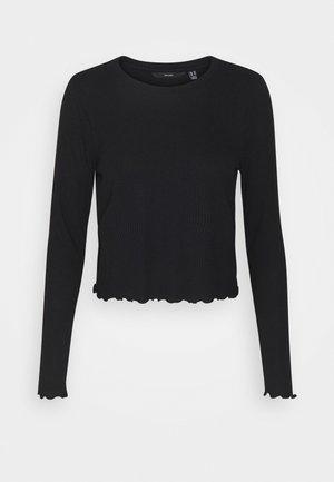 VMBREA CROPPED - Langarmshirt - black