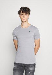 G-Star - BASE 2 PACK - Basic T-shirt - steel grey - 2