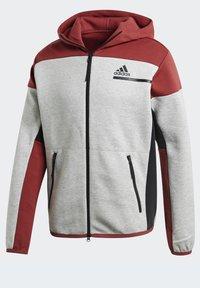 adidas Performance - Zip-up hoodie - grey - 10